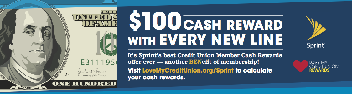 Abbey Credit Union Sprint Promo